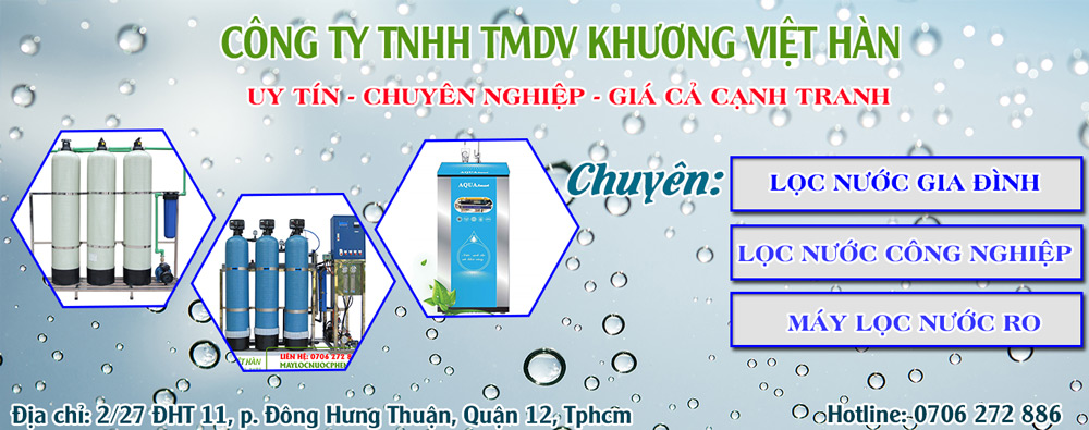 Máy lọc nước phèn