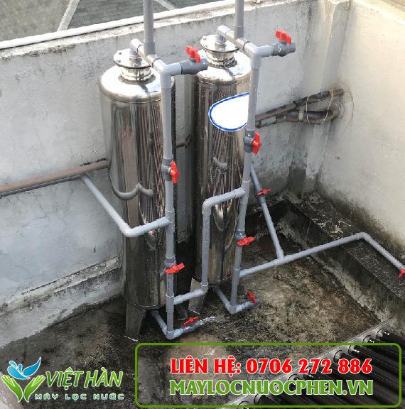 Bộ lọc nước sinh hoạt cột Inox