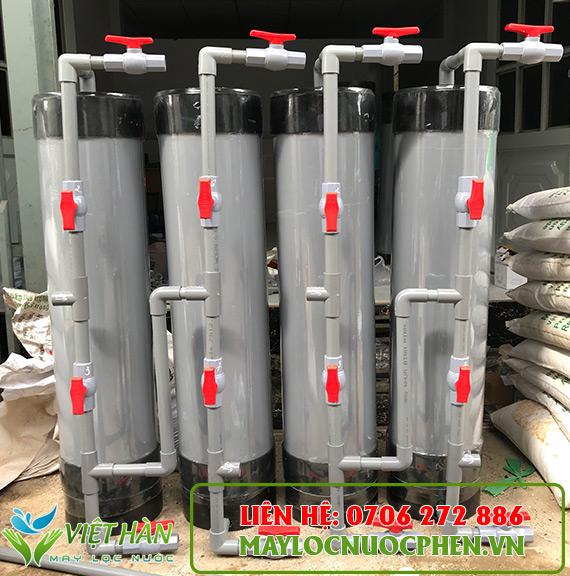 Lọc nước sinh hoạt cột nhựa