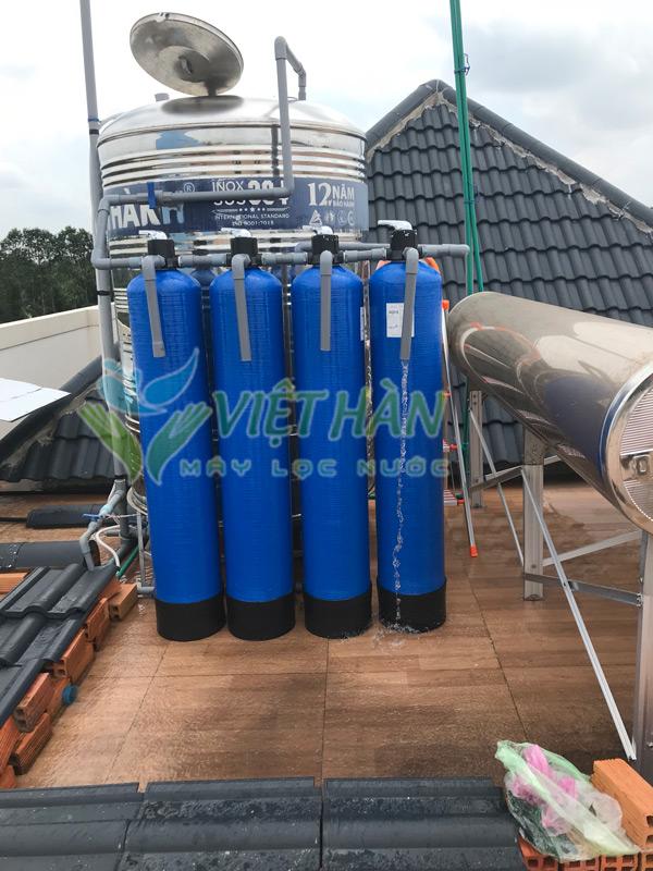 Bộ lọc nước giếng khoan công suất lớn