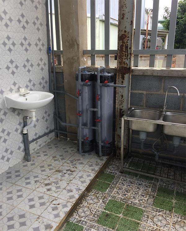 Bộ lọc nước giếng khoan cột nhựa pvc