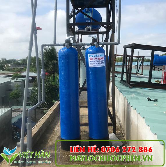 Bộ lọc nước sinh hoạt cột composite